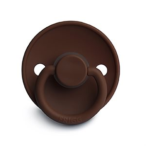 FRIGG Classic Silicone Milk Chocolate - size 2